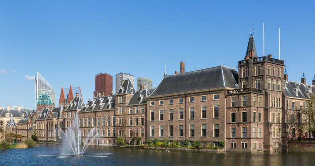 hanskraan wayfinding - Rijksoverheid Binnenhof